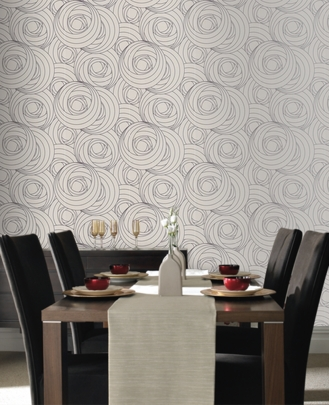 Mackintosh Rose Wallpaper